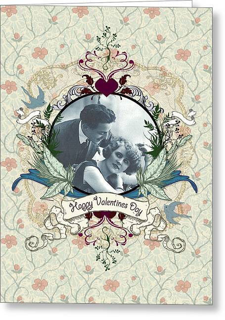 Carrie Jackson Studios Greeting Cards - True Love Valentine  Greeting Card by Carrie Jackson