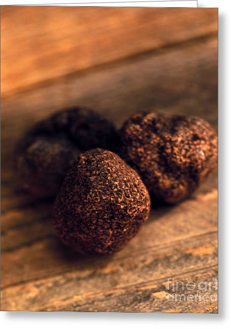 Owner Greeting Cards - Truffles Greeting Card by Iris Richardson