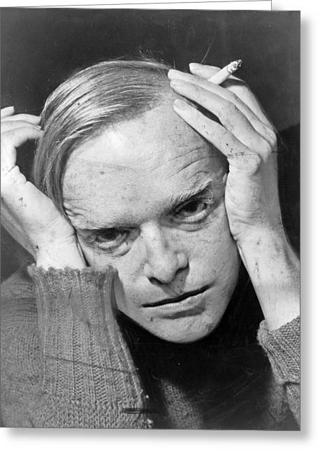 Truman Capote Greeting Card by Mountain Dreams