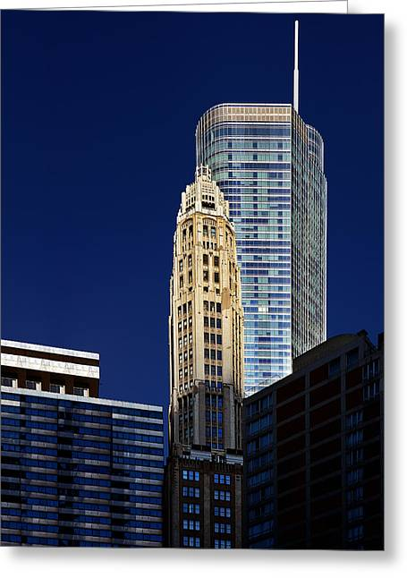 Interior Scene Photographs Greeting Cards - Trump International Hotel and Tower Chicago Greeting Card by Christine Till