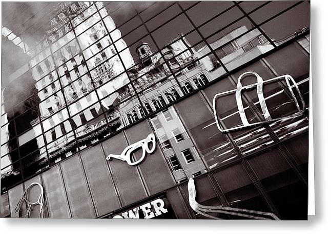 Trump Tower Greeting Card by Dave Bowman