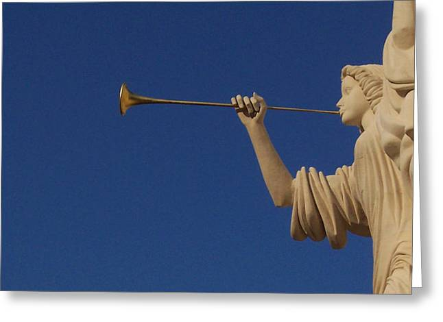 Trumpeter  Greeting Card by First Star Art