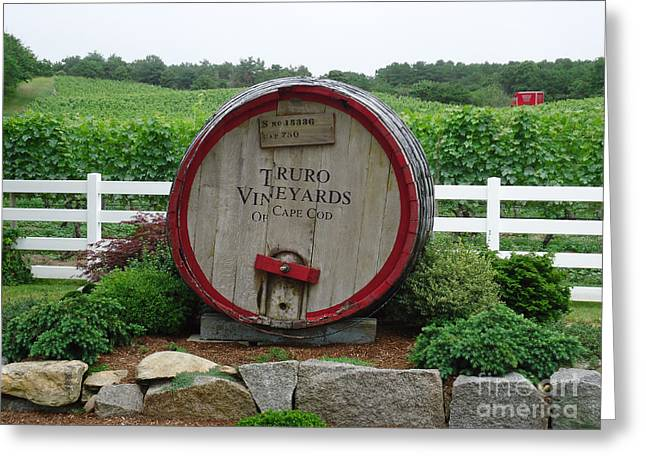 Recently Sold -  - Chatham Greeting Cards - Truro Vineyards Greeting Card by John Turek