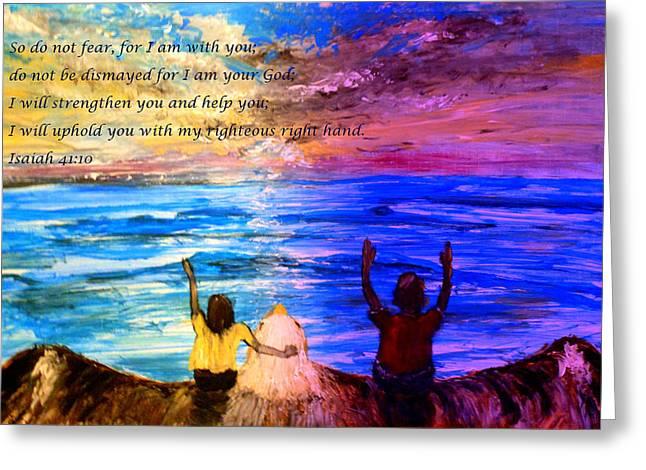 Dismay Paintings Greeting Cards - Truth  Greeting Card by Amanda Dinan