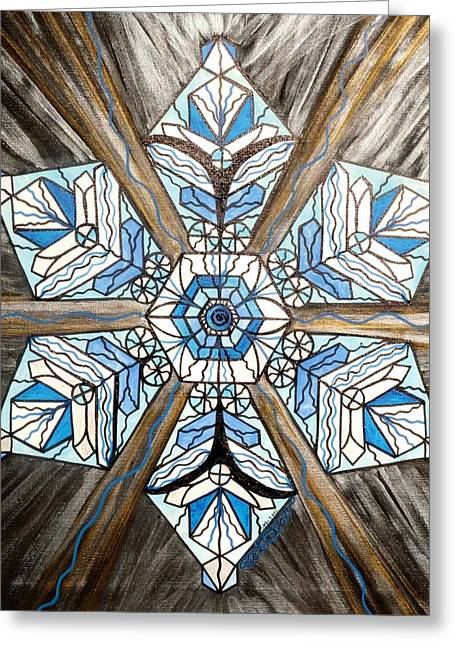 Allopathy Paintings Greeting Cards - Truth Greeting Card by Teal Eye  Print Store