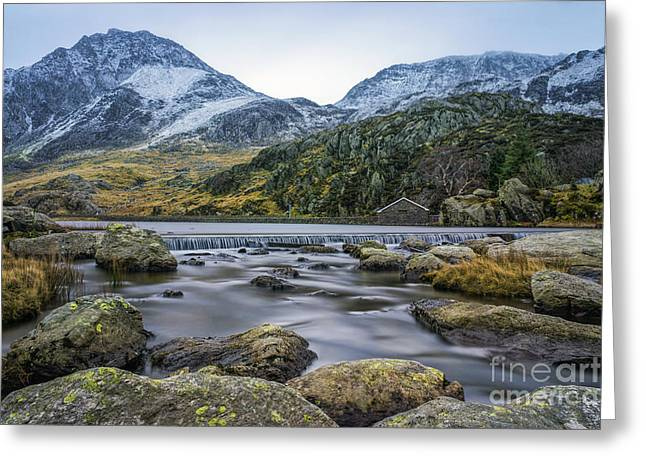 Rambling Greeting Cards - Tryfan  Greeting Card by Ian Mitchell