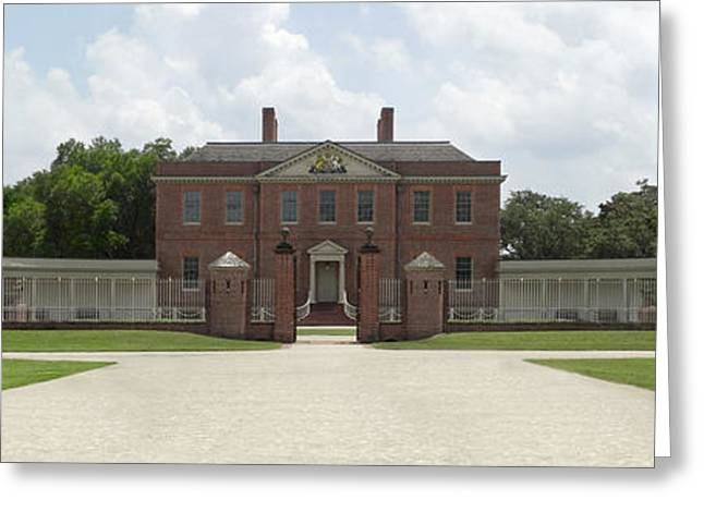 Governor Greeting Cards - Tryon Palace - New Bern NC Greeting Card by Mike McGlothlen