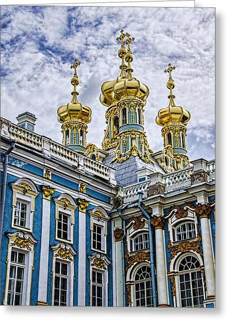 Tsarskoye Selo - The Tsars Village Greeting Card by Jon Berghoff
