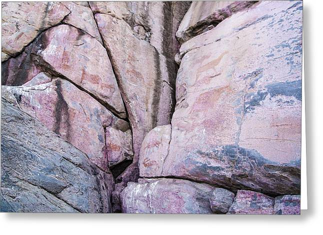 Infertile Greeting Cards - Tsodilo - Rock-art Greeting Card by Andy-Kim Moeller