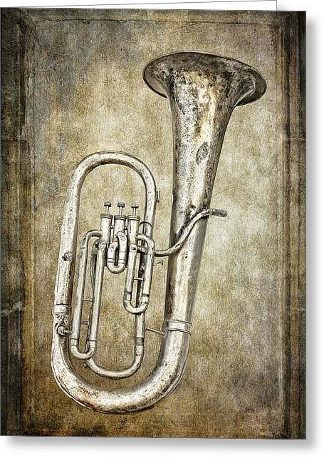 Marching Band Greeting Cards - Tubacular Greeting Card by Daniel Hagerman