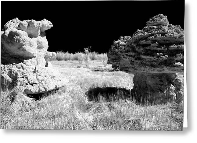 Tufa Greeting Cards - Tufa Towers Greeting Card by Cat Connor