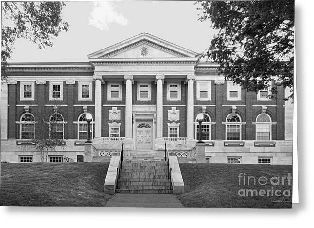 Occasion Greeting Cards - Tufts University Eaton Hall Greeting Card by University Icons