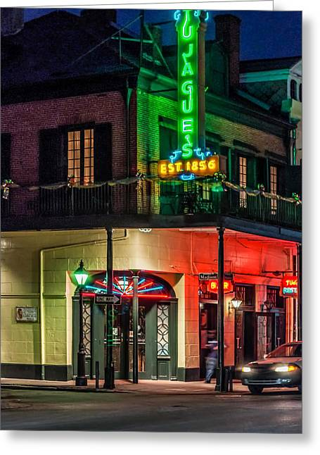 Night Scene Prints Greeting Cards - Tujagues Greeting Card by Steve Harrington