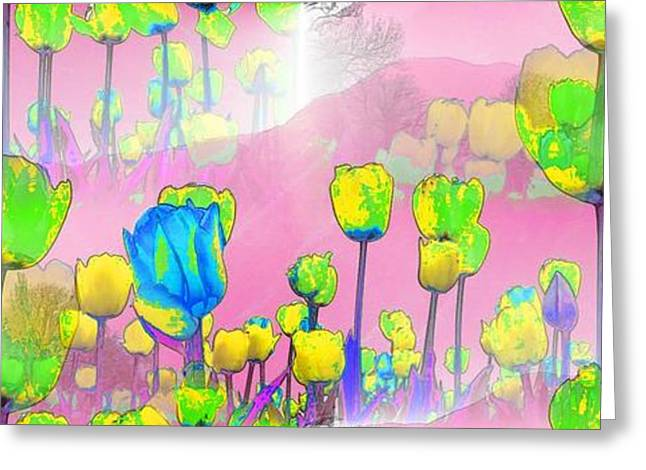 Art Book Greeting Cards - Tulips Greeting Card by Maestro