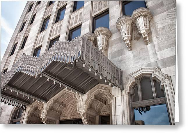 Tulsa Oklahoma. Architecture Greeting Cards - Tulsa Art Deco Greeting Card by Lauri Novak