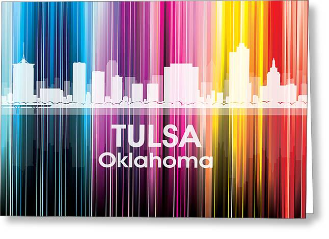 Industrial Icon Greeting Cards - Tulsa OK 2 Greeting Card by Angelina Vick