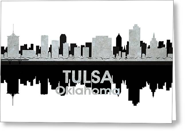 Industrial Icon Greeting Cards - Tulsa OK 4 Greeting Card by Angelina Vick