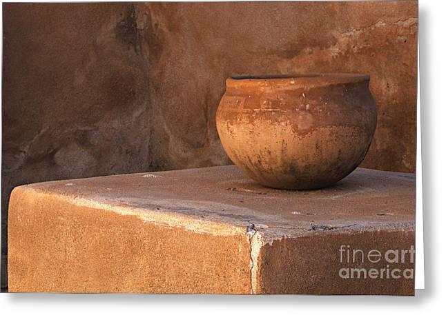 Tumacacori Arizona 2 Greeting Card by Bob Christopher