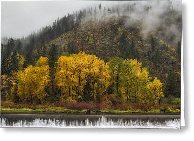 Hiking Greeting Cards - Tumwater Canyon Greeting Card by Mark Kiver