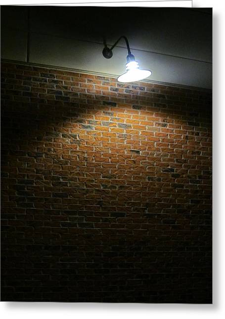 Night Lamp Greeting Cards - Tungsten Filament in Complete Overload Greeting Card by Guy Ricketts