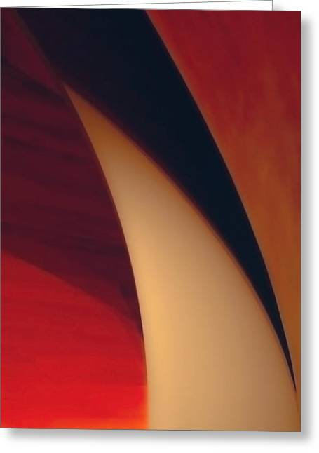 Turbine Greeting Card by Peter Benkmann