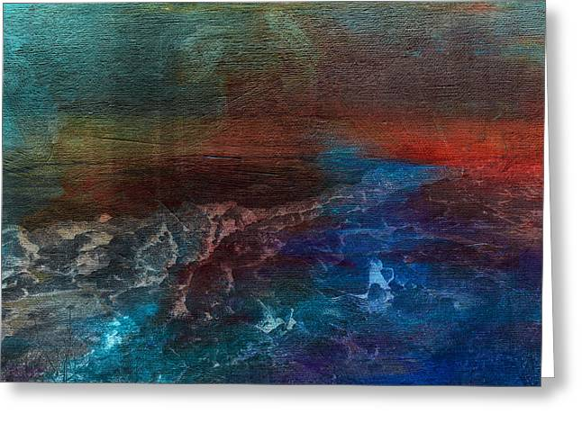Turbulent Skies Photographs Greeting Cards - Turbulence Greeting Card by Bonnie Bruno