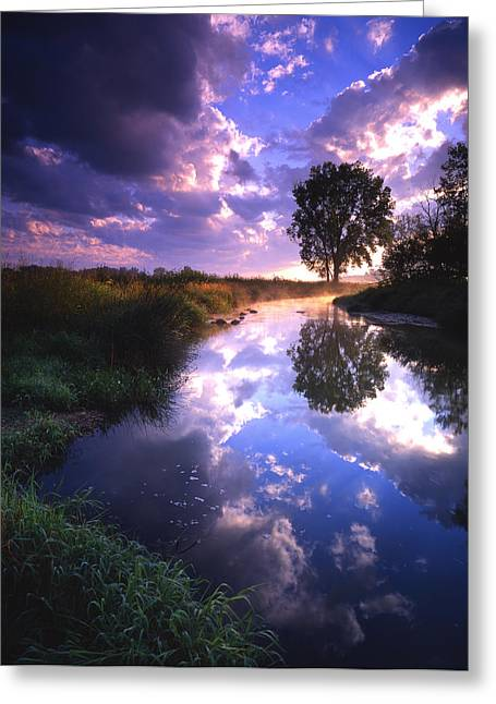 Hack-ma-tack National Wildlife Refuge Greeting Cards - Turbulent Serenity Greeting Card by Ray Mathis