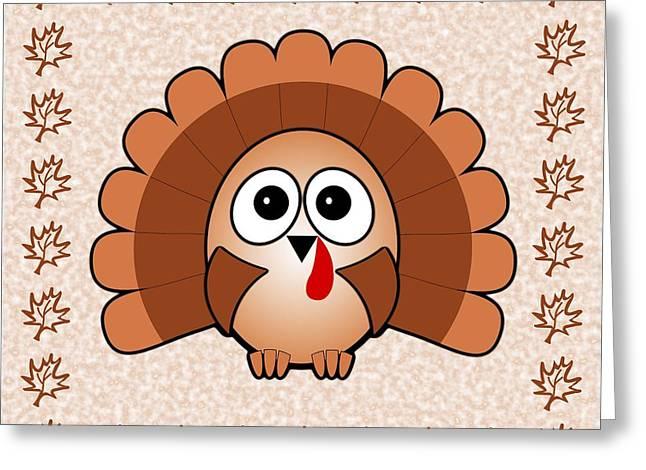 Nursery Theme Greeting Cards - Turkey - Birds - Art for Kids Greeting Card by Anastasiya Malakhova