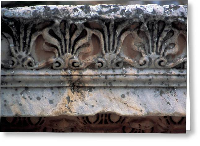 Turkey, Ephesus Classical Greek Marble Greeting Card by Jaynes Gallery
