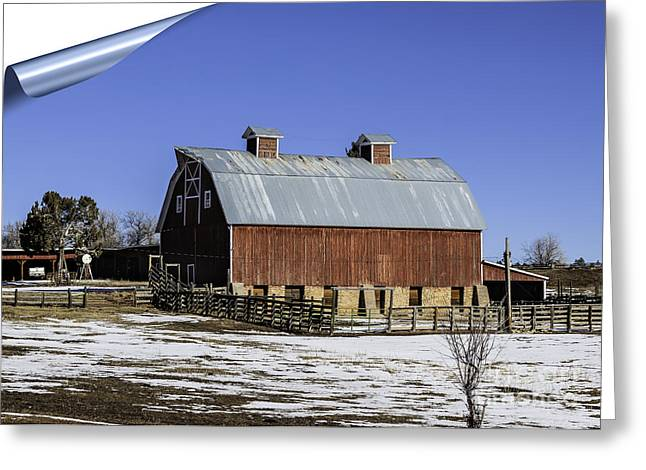 Wooden Building Greeting Cards - Turn The Page Greeting Card by Janice Rae Pariza