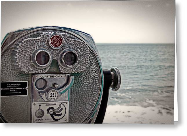 Turn To Clear The Ocean Greeting Card by Tom Gari Gallery-Three-Photography
