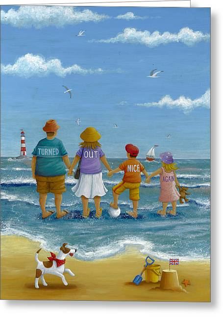Nice Day Greeting Cards - Turned Out Nice Again Greeting Card by Peter Adderley