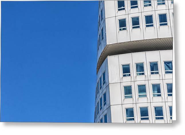 Turning Torso Skyscraper Greeting Card by Antony McAulay