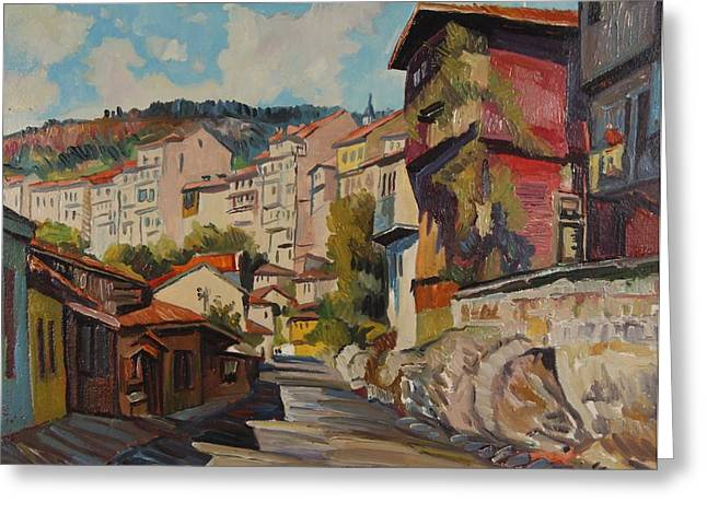 Naturalistic Greeting Cards - Turnovo Greeting Card by Ivan Shikerov