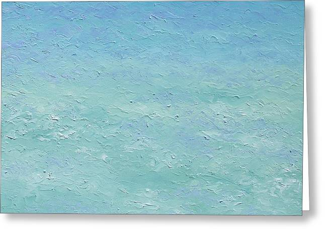 Ocean Art. Beach Decor Greeting Cards - Turquoise ocean 2 Greeting Card by Jan Matson
