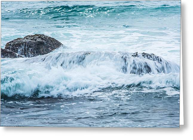 Ocean Art Photos Greeting Cards - Turquoise Waters Greeting Card by Parker Cunningham