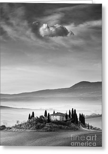 Vista Greeting Cards - Podere Belvedere 2 Greeting Card by Rod McLean
