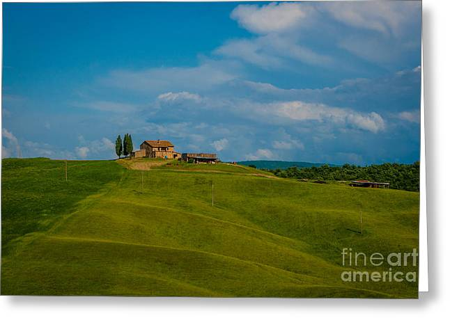 Canon Greeting Cards - Tuscany 2013 Greeting Card by Stefano Carini