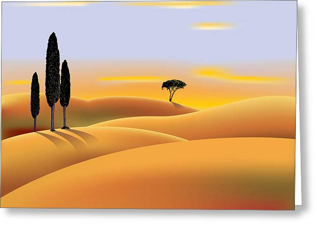 Gary Grayson Greeting Cards - Tuscany Greeting Card by Gary Grayson