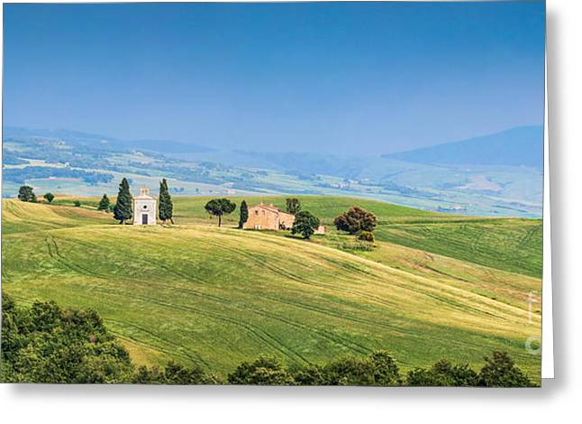 Chianti Hills Photographs Greeting Cards - Tuscany Greeting Card by JR Photography