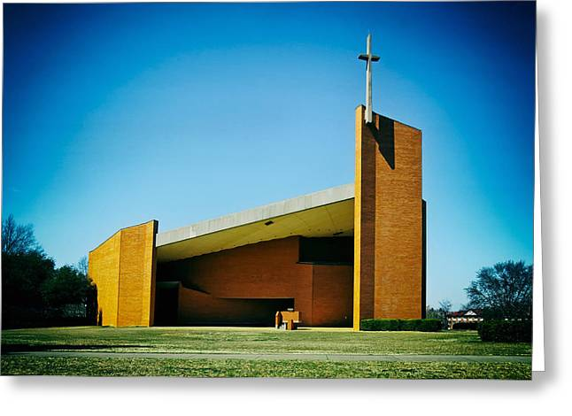 Tuskegee Greeting Cards - Tuskegee University Chapel Greeting Card by Mountain Dreams