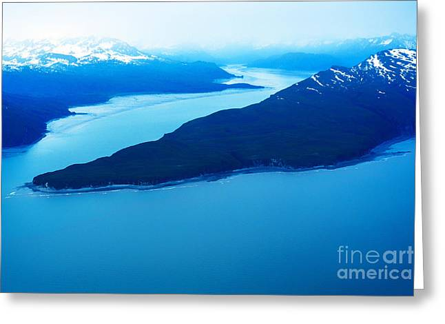 Wildlife Refuge. Greeting Cards - Tuxedni Bay and Chisik Island Greeting Card by Thomas R Fletcher