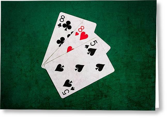 Blackjack Greeting Cards - Twenty One 11 Greeting Card by Alexander Senin