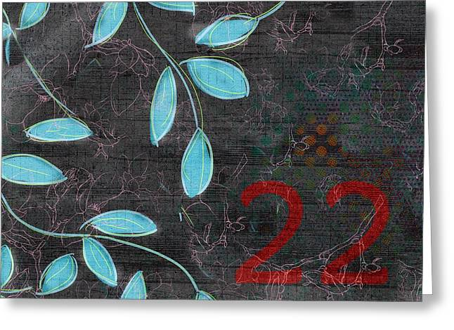 Twenty Greeting Cards - Twenty-two - 19n Greeting Card by Variance Collections