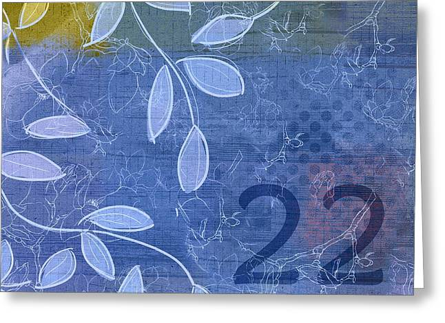 Twenty Greeting Cards - Twenty-Two - j01c2215 Greeting Card by Variance Collections