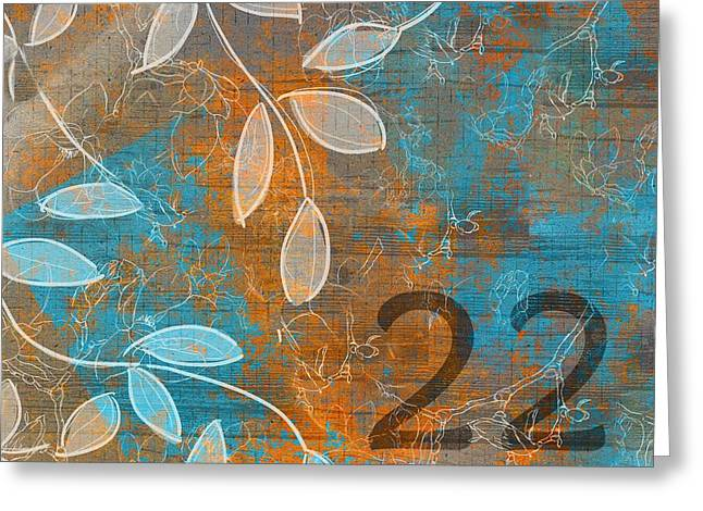 Digital Collage Greeting Cards - Twenty-two - sp1251 Greeting Card by Variance Collections