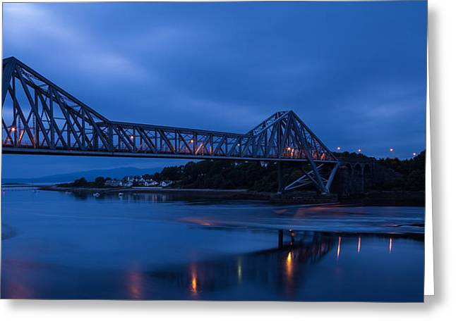 Twilight At Connel Bridge Greeting Card by Denise McLaurin