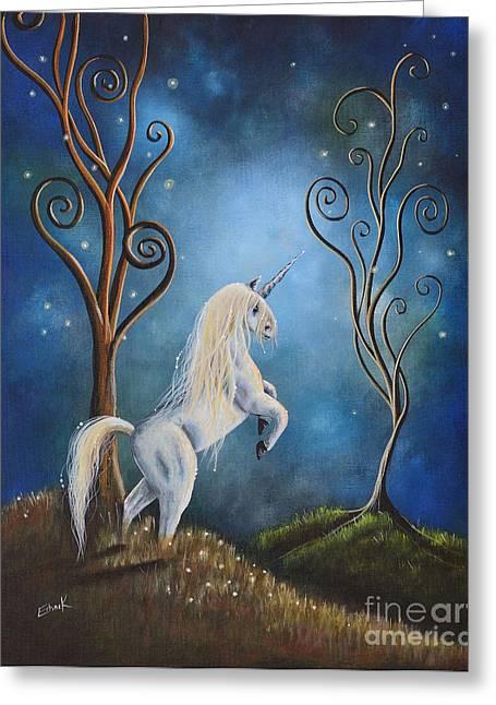 Twilight By Shawna Erback Greeting Card by Shawna Erback