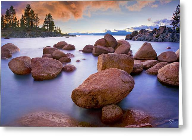 Twilight Cove - Craigbill.com - Open Edition Greeting Card by Craig Bill