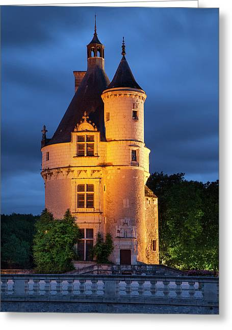 Twilight Over The 15th Century Guard Greeting Card by Brian Jannsen
